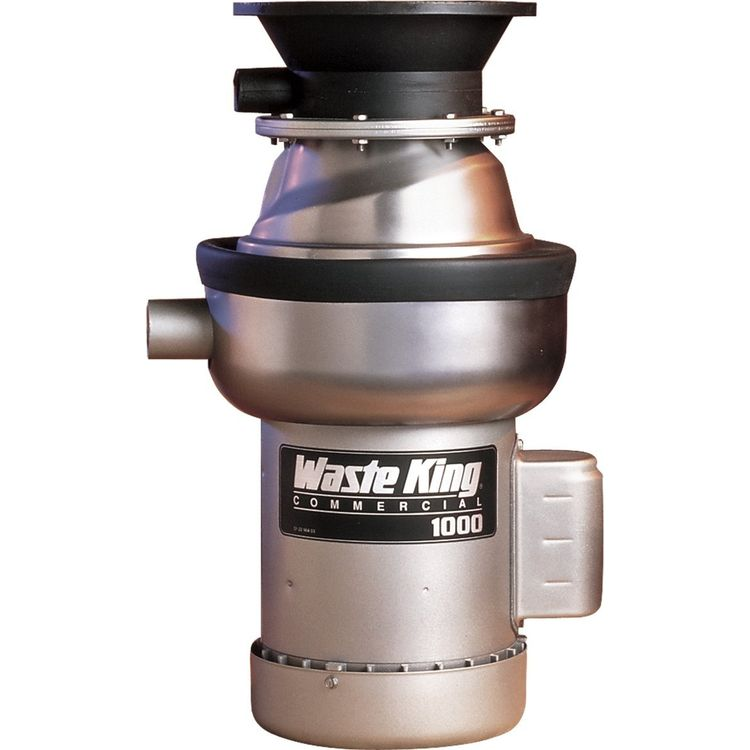 Waste King Commercial Garbage Disposal 1000-1 - 1 hp Single Phase