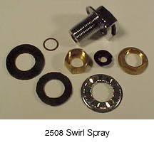 Waste King Accessories Commercial - Waste King Swirl Spray for Cone Assembly 2508