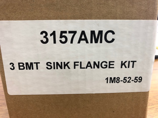 Waste King 3157 3 Bolt Sink Flange