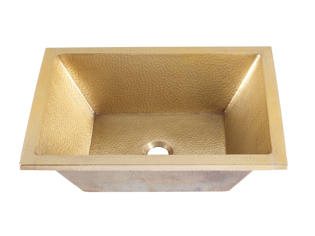 Thompson Traders Sinks - Bathroom Sinks - Satin Gold - Tonala BPU-1914ASG - Antique Satin Gold Finish