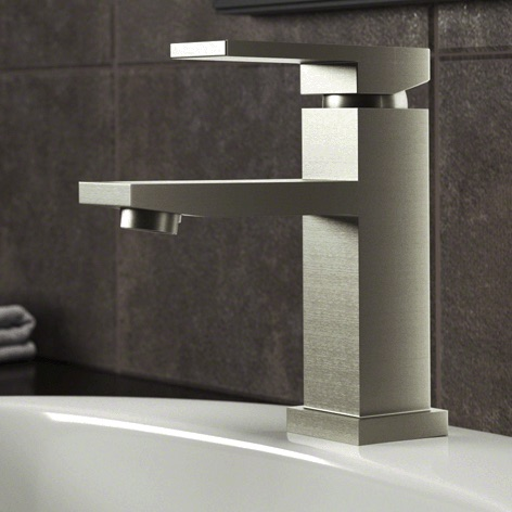 Wave Faucets - Bathroom Faucets - 720-BN Vessel Faucet - Brushed Nickel