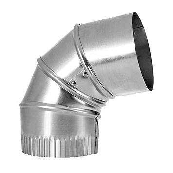 "Lambro Industries - 721 - 3"" Galvanized Adjustable Elbow"