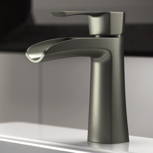 Wave Faucets - Bathroom Faucets - 732-BN Vessel Faucet - Brushed Nickel