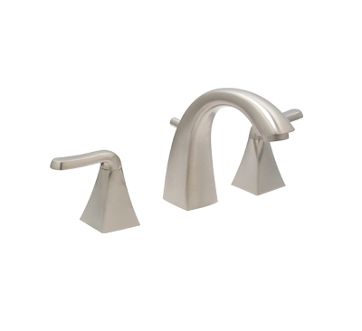 Huntington Brass Bathroom Faucets - Decor Series - Merced WS- 85451-72 Satin Nickel