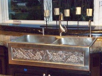 Farmhouse Kitchen Sinks apron front farmhouse sinks - wave plumbing