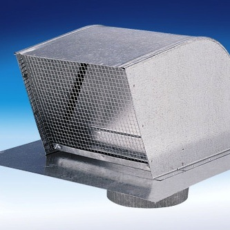 Fantech RC12 Galvanized Roof Cap for Round Duct - 12""
