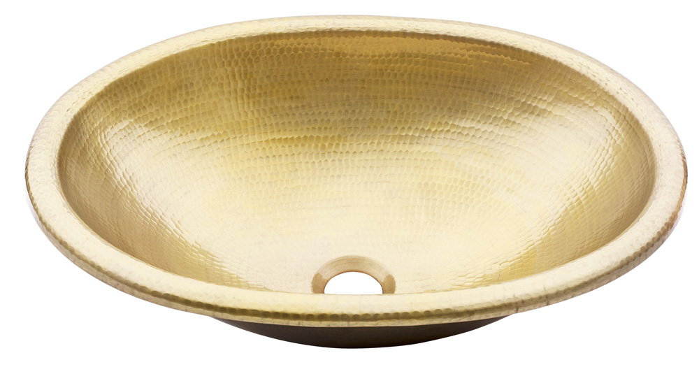 Thompson Traders Sinks - Bathroom Sinks - Satin Gold - Huacana - 2OASG - Antique Satin Gold Finish
