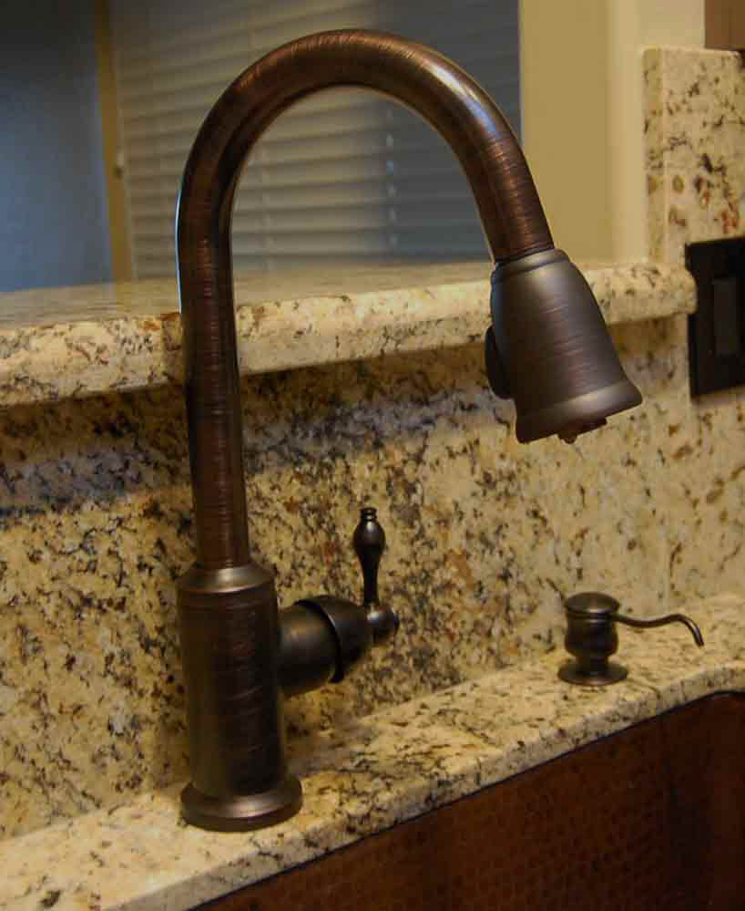 Premier Copper Kitchen Faucets - K-PD01ORB Pulldown Faucet