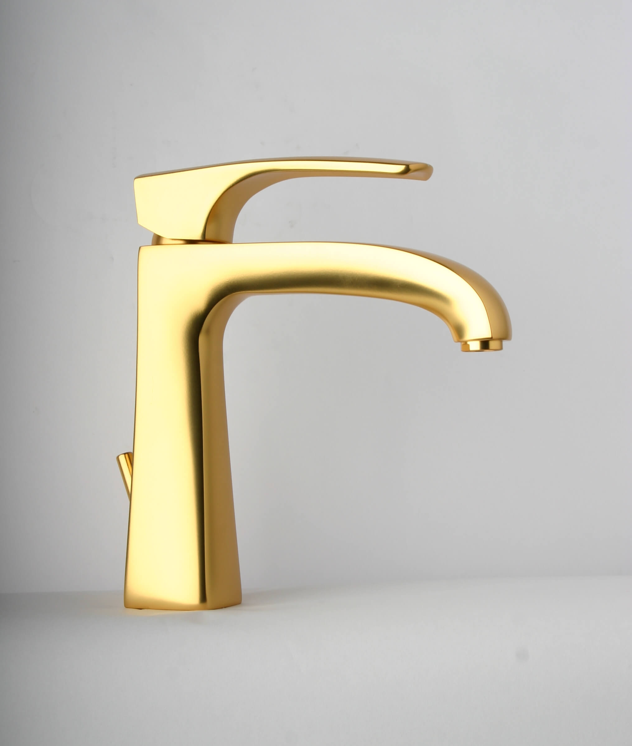 Bathroom Faucets Gold : ... Faucets - Lady 89OK211 Single Control Lavatory Faucet - Satin Gold