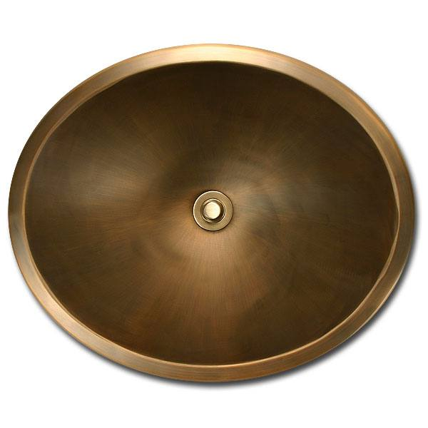 Linkasink Bathroom Sinks - Bronze - BR005 Oval (Smooth) - 4 Finishes