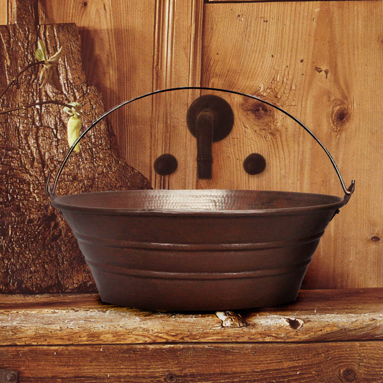 Linkasink Sinks - Copper Bathroom Sinks