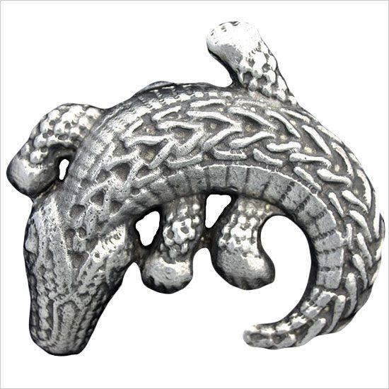 Linkasink Drain - Bathroom D108 Metal Gator Decorative Bathroom Sink Drain