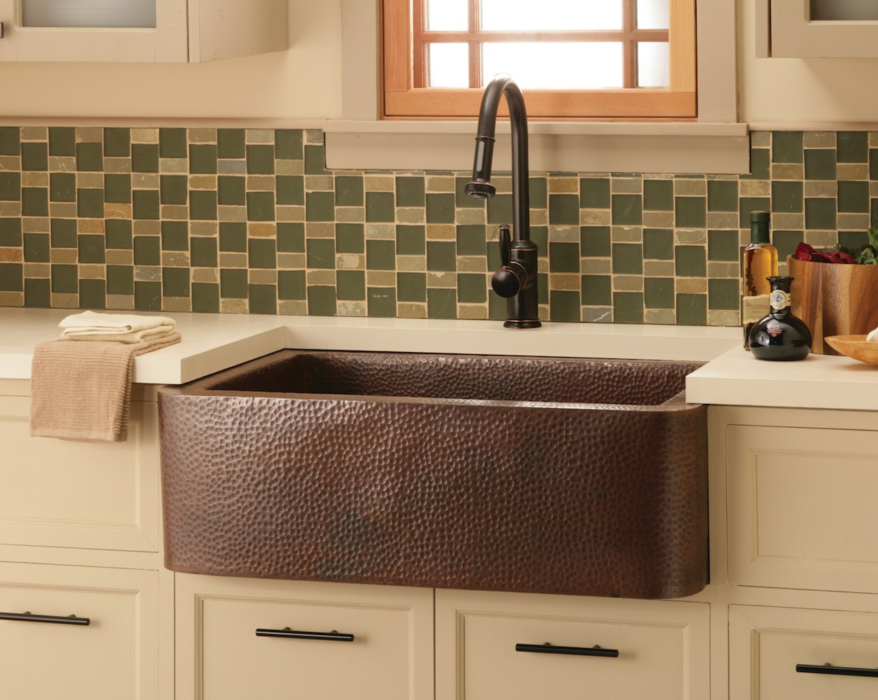 Native Trails Kitchen Sinks - Copper - Farmhouse 33 CPK273 - Antique Finish