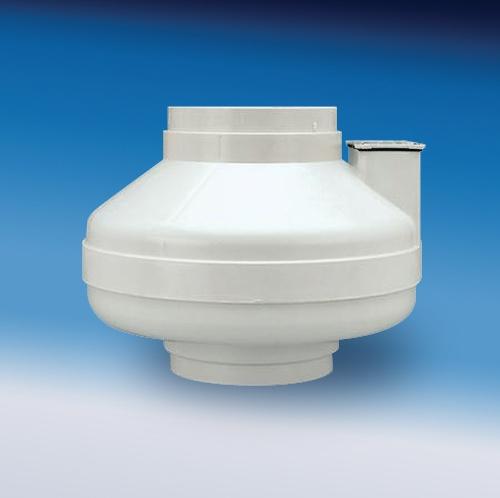 Fantech Hp 190 Inline Radon Fan 4 5 Duct 157 Cfm