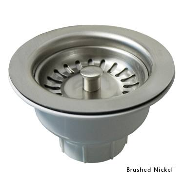 "Native Trails Drains - Kitchen - 3.5"" Basket Strainer - DR320 - 6 Finishes"