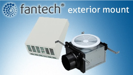 Fantech kitchen exhaust fans wow blog for Exterior mounted exhaust fans for bathroom
