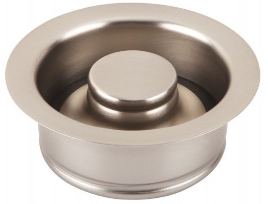 Thompson Traders Drain - Kitchen - TDD35-BRN - Disposal Flange and Stopper - Brushed Nickel