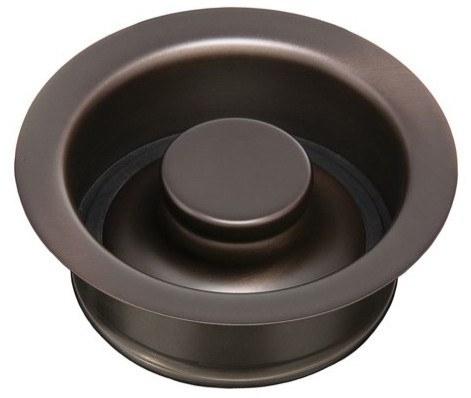 Thompson Traders Drain - Kitchen - TDD35-OB Disposal Flange and Stopper - Oil-Rubbed Bronze