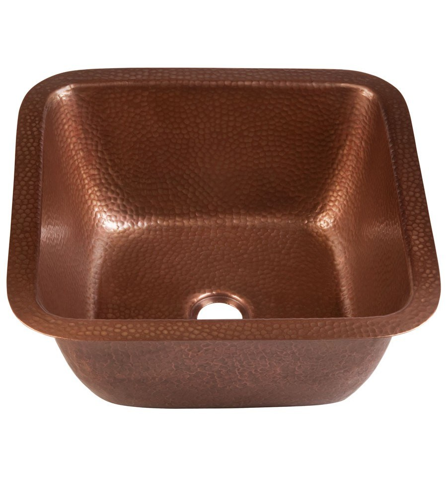 Thompson Traders Sinks - Kitchen Bar & Prep - Copper - Renovations Picasso 1SAC - Antique Copper