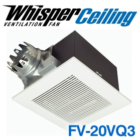 Panasonic Fans - WhisperCeiling - FV-20VQ3 Bathroom Ventilation Exhaust Fan - 190 cfm - 1.3 Sones - 6 Inch Duct
