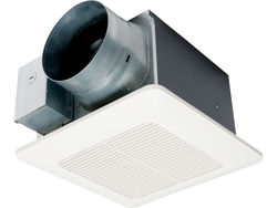 "Panasonic Fans - WhisperCeiling DC - FV-1115VQ1 - Precision Spot Bathroom Ventilation Fan - 110-130-150 CFM - 6"" Inch Duct"