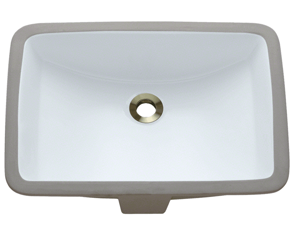 Solera Sinks - Bathroom - Porcelain - S3191U-Wht Porcelin White