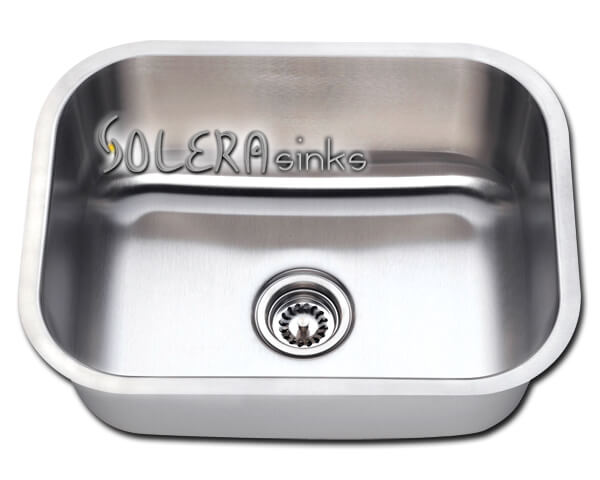 "Solera Sinks - Kitchen - Stainless Steel S813 Undermount Single Bowl Sink 31 1/2"" x 18 3/4"" x 10 1/8"""