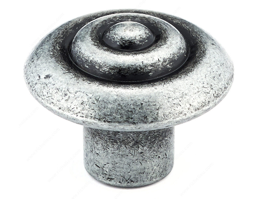 Richelieu Hardware 2391132907 - Traditional Metal Knob Wrought Iron
