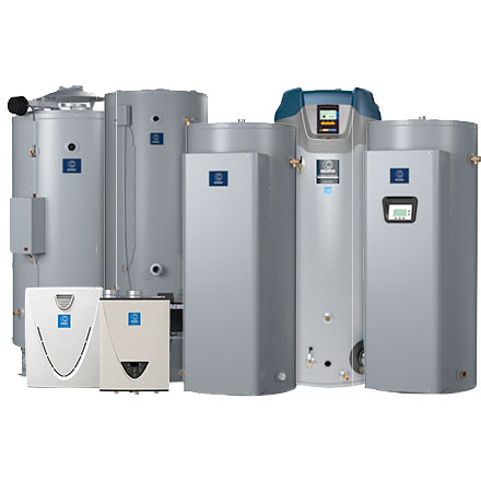 group of 7 water heaters