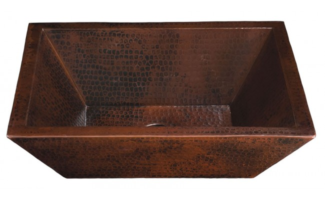 Thompson Traders Sinks - Bathroom - Copper - Limited Editions - Diego II - BPV-1914BC - Black Copper