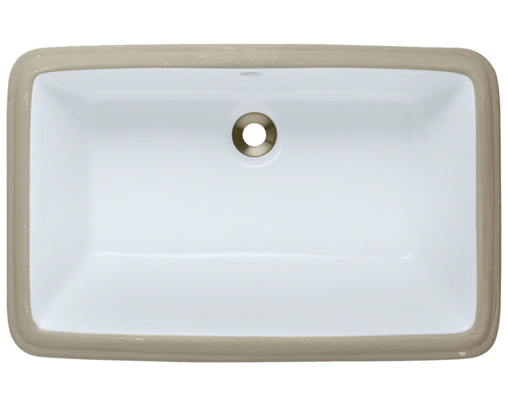 Solera Sinks - Bathroom - Porcelain - S2181UW Porcelin White