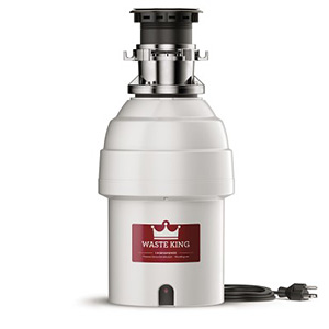 Waste King Garbage Disposal - 8000TC 1 HP Legend Series Garbage Disposer - Batchfeed