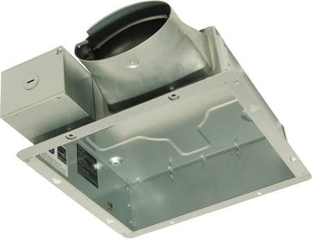 Panasonic Fans - WhisperValue - FV-0510VSA1 - HOUSING CAN - CONTRACTOR PACK - 4 Inch Oval Duct