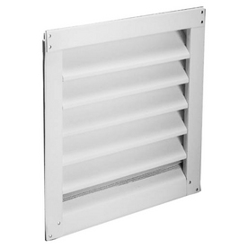 "Lambro Industries - Wall Caps - Polypropylene Plastic 6"" White Air Intake Vent - Model 606W"