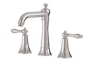Aquabrass Bathroom Faucets - Classic Julia 31016 - Widespread Lavatory Faucet - 2 Finishes