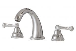 Aquabrass Bathroom Faucets - Classic San Remo 8016 - Widesoread Lavatory Faucet - 2 Finishes
