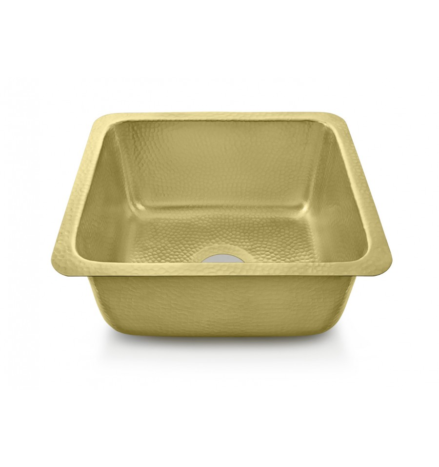 Thompson Traders Sinks - Kitchen Bar & Prep - Brass - Rivera KPU-1715HPB - Brass Finish