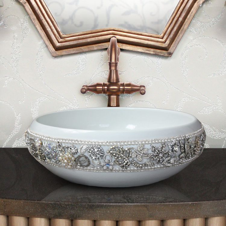Linkasink Sinks - Porcelain Jeweled