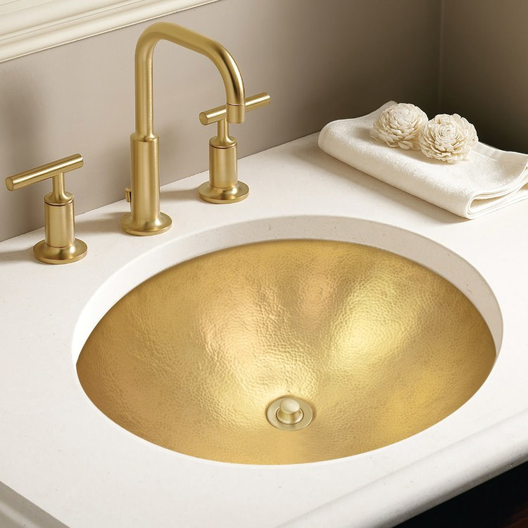 Linkasink Sinks - Unlacquered Brass