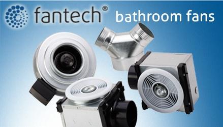Fantech   Bathroom Ventilation Fan Kits