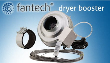 Fantech - Dryer Booster Fans