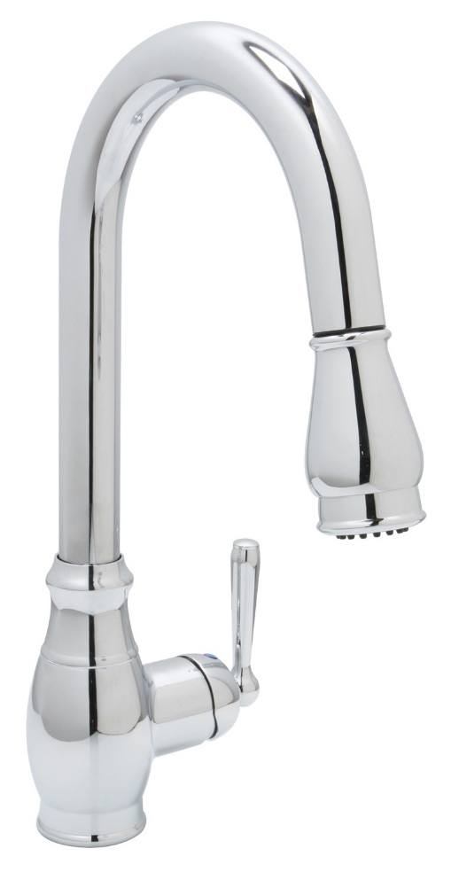 Huntington Brass Kitchen Faucets - Isabelle K4811001-D - Pull-Down Kitchen Faucet - Chrome