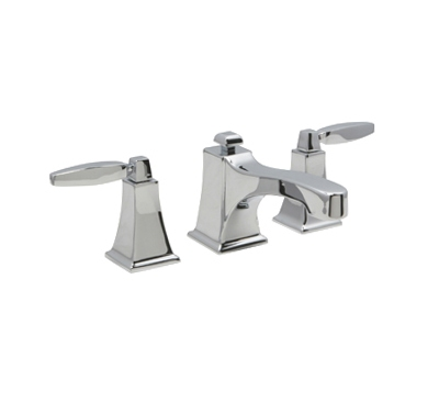 "Huntington Brass Bathroom Faucets - Platinum Signature - Intrigue W4560001-1 - 8"" Wide Spread Bath Faucet - Chrome"