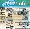 Panasonic Bathroom Fans Info - Installation Manuals