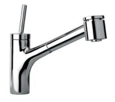 LaToscana by Paini Kitchen Faucet - Elba 78CR576JO Joystick Lever - Chrome