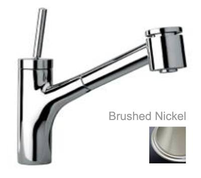 LaToscana by Paini Kitchen Faucet - Elba 78PW576JO Joystick Lever - Brushed Nickel
