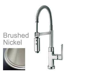 LaToscana by Paini Kitchen Faucet - Novello 86PW557 Spring Spout - Brushed Nickel