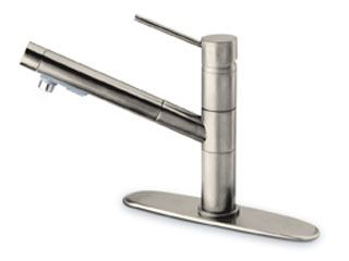 LaToscana by Paini Kitchen Faucet - Elba 78CR568 Pull Out Spout - Chrome