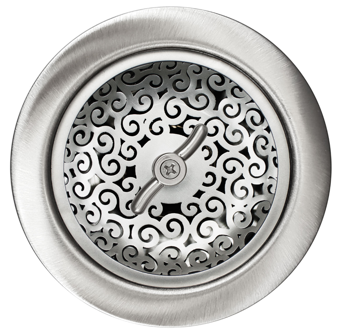Linkasink Drain - Kitchen D056 Swirl Basket Strainer