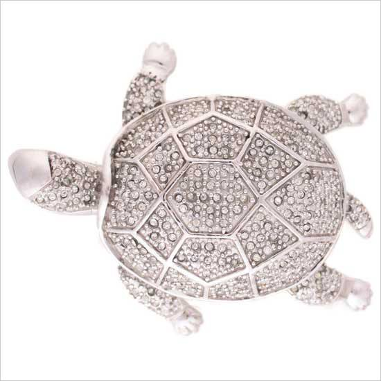 Linkasink Drain - Bathroom D705 Jeweled Turtle Decorative Sink Drain